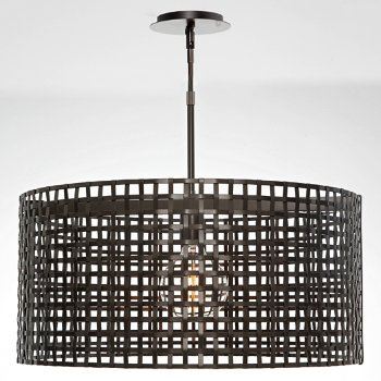 Shown in Flat Bronze finish, None Exposed Lamping
