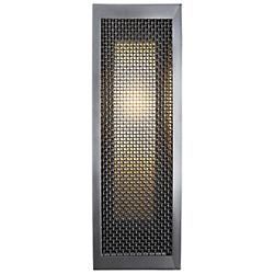 Outdoor Mesh Double Box Wall Sconce