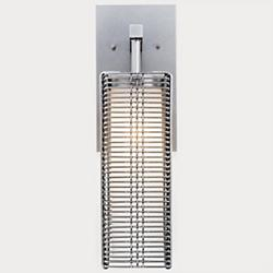 Downtown Mesh Outdoor Wall Sconce