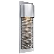 Outdoor Mesh Short Panel Wall Sconce