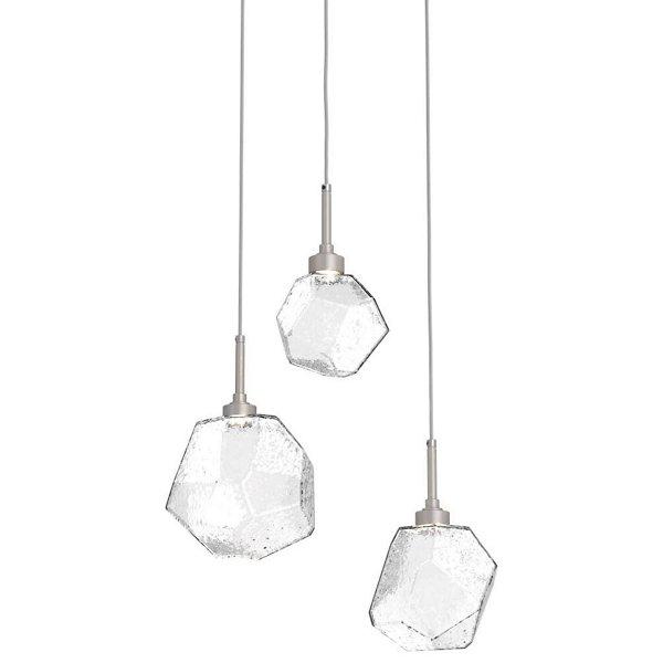 Gem Round LED Multi-Light Pendant