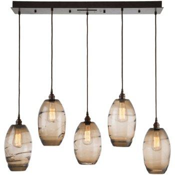 Ellisse Linear Suspension Light, in use