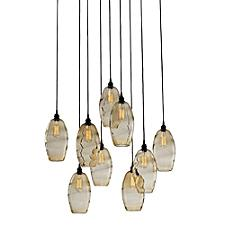 Ellisse Square Multi-Light Pendant