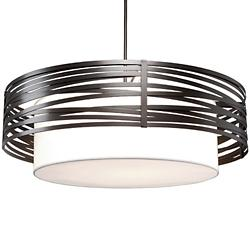 Tempest Drum Chandelier with Shade