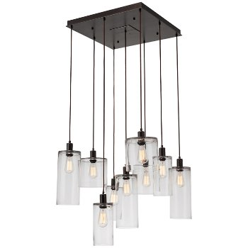 Coppa round multi light pendant by hammerton studio at lumens apothecary square multi light pendant aloadofball Choice Image