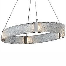 Parallel Oval LED Chandelier