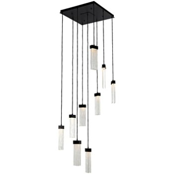 Parallel Square LED Multi-Light Pendant