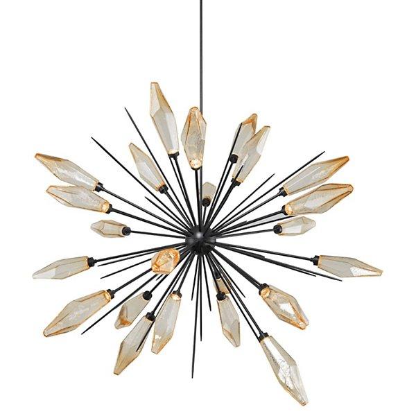 Rock Crystal LED Chandelier