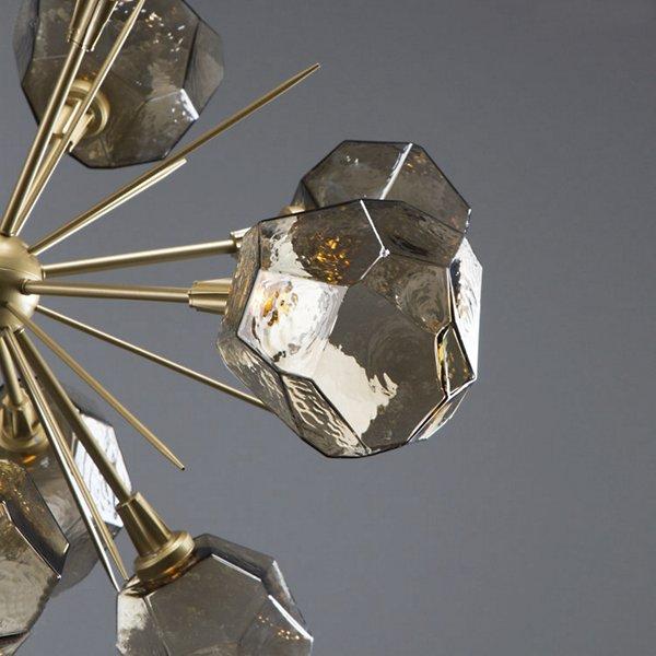 Gem Starburst LED Chandelier