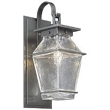 Landmark Outdoor Wall Sconce with Shepard's Hook