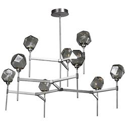 Gem Round LED Belvedere 2-Tier Chandelier