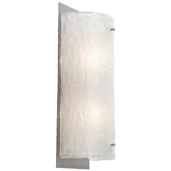 Shown in Flat Bronze finish, Frosted Granite shade / 14 inch