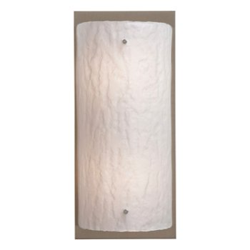 Shown in Metallic Beige Silver finish, Frosted Granite shade, 26 inch
