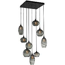 Misto Square Multi Light Pendant