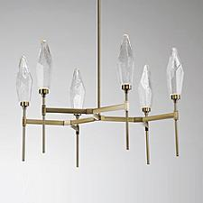 Rock Crystal LED Belvedere Chandelier
