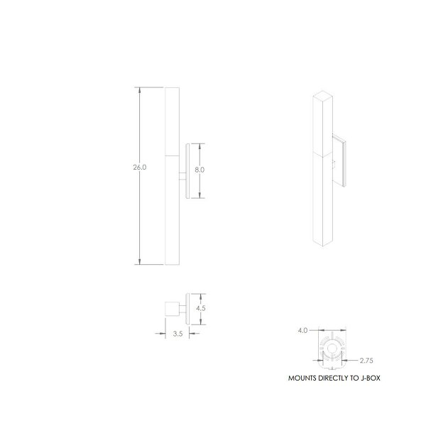 Axis Indoor Wall Sconce