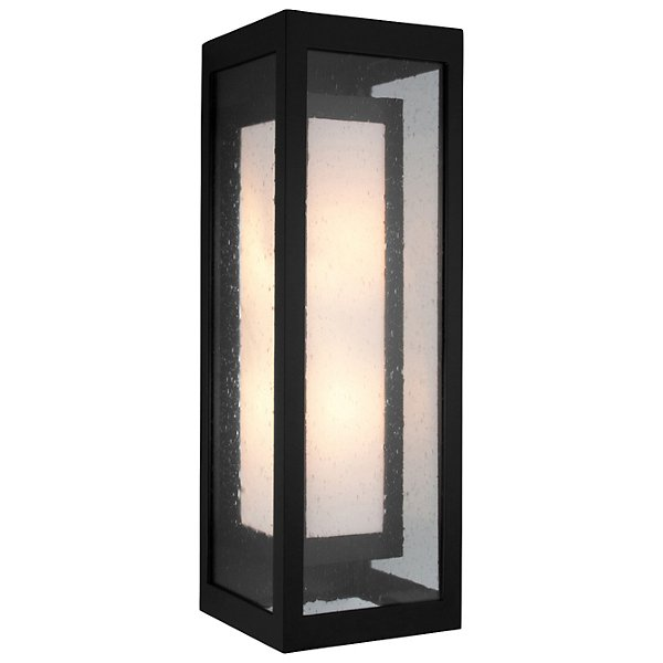 Outdoor Double Box Wall Sconce