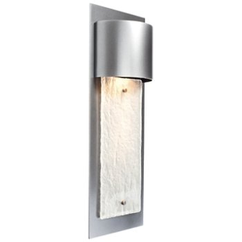 Outdoor Short Panel Wall Sconce