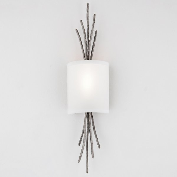 Ironwood Thistle Linen Wall Sconce