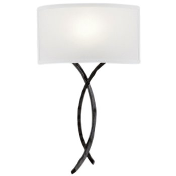 Ironwood Twist Linen Wall Sconce