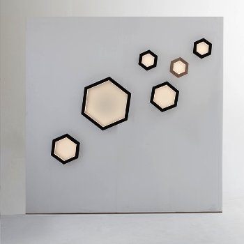 Hexagon LED Wall Sconce