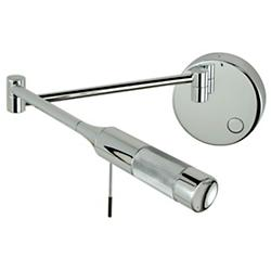 Cleo LED Swing Arm Wall Sconce (Chrome/Left) - OPEN BOX