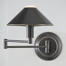 Wall Sconce No. 9416/1 with Swingarm (Bronze) - OPEN BOX