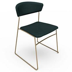 Wolfgang Metal Chair Set of 2