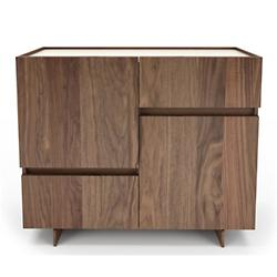 Magnolia Sideboard with Lacquered Glass Top
