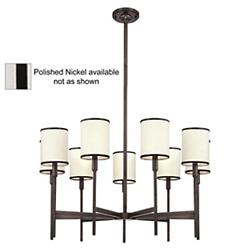 Aberdeen Chandelier (Nickel/9 Lights) - OPEN BOX RETURN