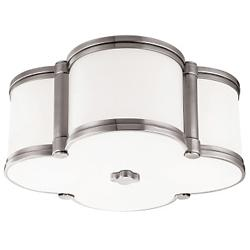 Chandler Flushmount (Polished Nickel/Small) - OPEN BOX
