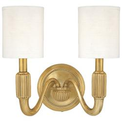 Tuilerie 2-Light Wall Sconce (Aged Brass) - OPEN BOX RETURN