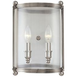 Mansfield Wall Sconce (Polished Nickel/2 Lights) - OPEN BOX