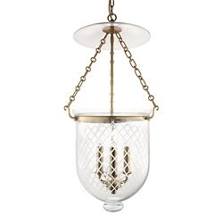 Hampton Pendant (Aged Brass/Diamond Cut/Medium) - OPEN BOX
