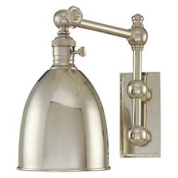 Roslyn Wall Sconce No. 761 (Polished Nickel) - OPEN BOX