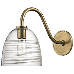 Remsen 1611 Wall Sconce (Aged Brass) - OPEN BOX RETURN