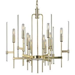 Bari Chandelier (Aged Brass/12 Lights) - OPEN BOX RETURN