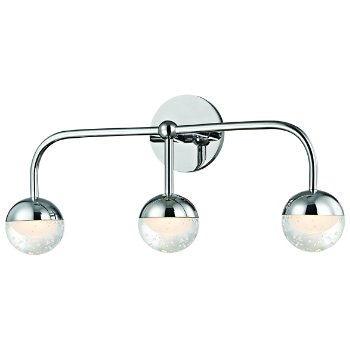 Shown in Polished Chrome finish, 3 Light