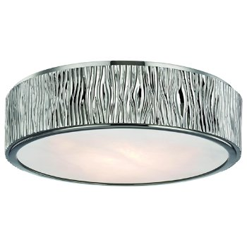 Shown in Polished Nickel finish, 13 inch