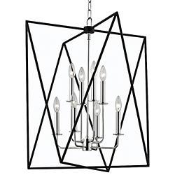 Laszlo 8-Light Pendant (Polished Nickel/Large) - OPEN BOX