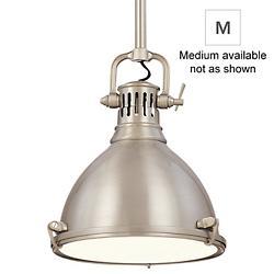 Pelham Pendant (Satin Nickel/Medium) - OPEN BOX RETURN