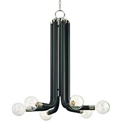 Desmond Chandelier (Polished Nickel/6 Light) - OPEN BOX