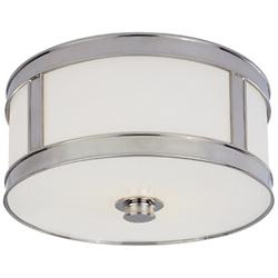 Patterson Flushmount (Polished Nickel/Small) - OPEN BOX