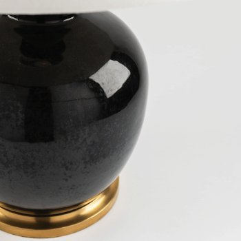 Shown in Imperial Black finish, Detail