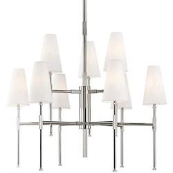 Bowery 9-Light Two-Tier Chandelier