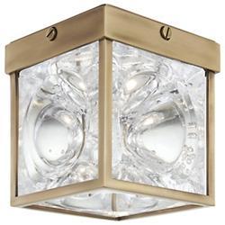 Calvin LED Flushmount (Aged Brass) - OPEN BOX RETURN
