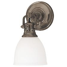 Pelham Wall Sconce w/ Glass Shade-OPEN BOX