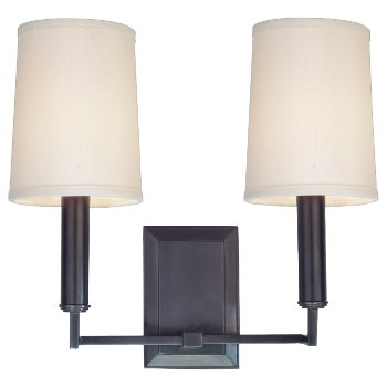 Clinton 2-Light Wall Sconce