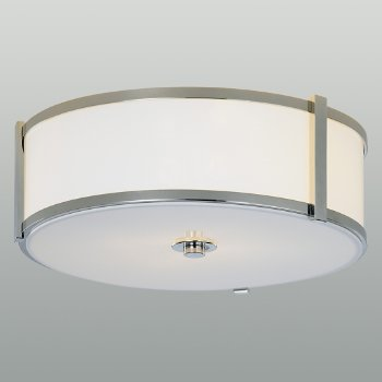 Shown in Polished Nickel finish, 24 inch