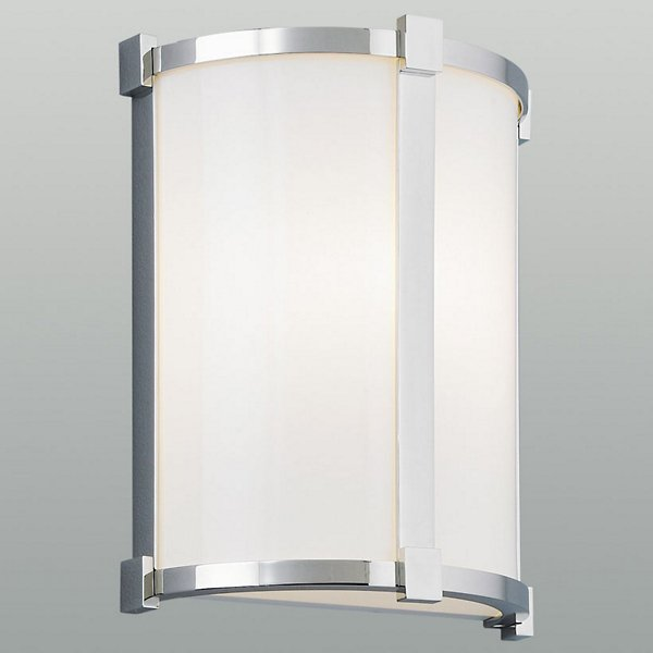 Hatbox Round Acrylic Wall Sconce